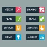 Sistema del vector de la llamada del botón al concepto de la acción con el icono para la web libre illustration