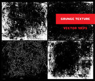 Sistema del vector de textura del Grunge del bosquejo Fotos de archivo libres de regalías