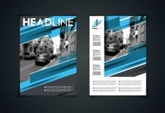Sistema del vector del tamaño de los folletos A4 de las plantillas de los aviadores del arte libre illustration