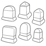 Sistema del vector del jalón libre illustration