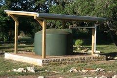 Sistema dell'accumulazione dell'acqua piovana Fotografie Stock Libere da Diritti