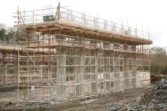 Sistema dell'otturatore per i pilastri del ponte Fotografie Stock Libere da Diritti