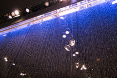 Sistema della cortina d'acqua Fotografia Stock Libera da Diritti