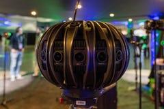 Sistema della Multi-macchina fotografica 360 VR Immagine Stock Libera da Diritti