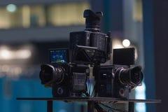 Sistema della Multi-macchina fotografica 360 VR Immagine Stock