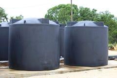 Sistema della raccolta dell'acqua piovana Fotografia Stock