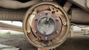 Sistema della rottura del tamburo dell'automobile video d archivio