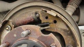 Sistema della rottura del tamburo dell'automobile archivi video
