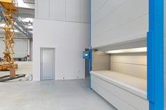 Sistema della scaffalatura del magazzino Fotografia Stock Libera da Diritti