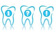 Sistema dental del gráfico ilustración del vector
