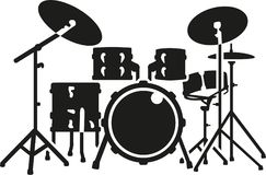 Sistema detallado del tambor libre illustration