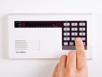 Sistema di allarme domestico Fotografie Stock Libere da Diritti