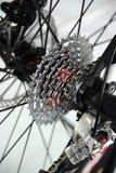 Sistema di azionamento posteriore delle biciclette Immagini Stock