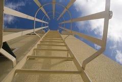 Sistema di chiusura della scaletta di manutenzione Fotografia Stock Libera da Diritti