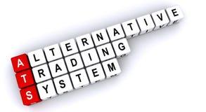Sistema di commercio alternativo royalty illustrazione gratis