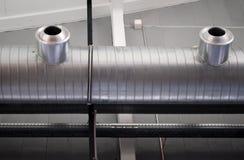Sistema di condizionamento d'aria Immagini Stock Libere da Diritti