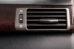 Sistema di condizionamento d'aria dell'automobile Fotografia Stock Libera da Diritti