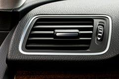 Sistema di condizionamento d'aria dell'automobile Immagini Stock