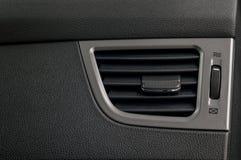Sistema di condizionamento d'aria dell'automobile Fotografie Stock Libere da Diritti