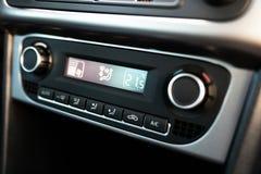 Sistema di condizionamento d'aria in un'automobile Fotografia Stock Libera da Diritti