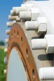 Sistema di energia eolica fotografia stock