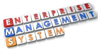 Sistema di gestione Fotografie Stock