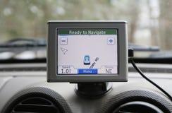 Sistema di GPS Fotografia Stock Libera da Diritti
