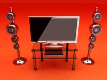 Sistema di Home Entertainment illustrazione vettoriale