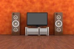 Sistema di Home Entertainment Fotografia Stock