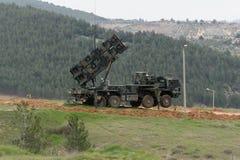 Sistema di missile Patriot fotografie stock libere da diritti