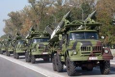 Sistema di missile terra-aria SA-3 Goa Fotografia Stock