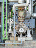 Sistema di pompaggio industriale Fotografia Stock Libera da Diritti