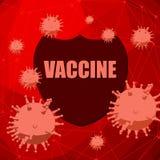 Sistema di protezione immune batteri, infezione virale royalty illustrazione gratis
