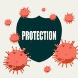 Sistema di protezione immune royalty illustrazione gratis