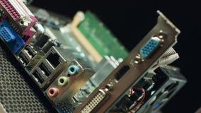 Sistema di raffreddamento del video whithout dell'adattatore grafico Gpu Adattatore grafico di PCI-E video d archivio