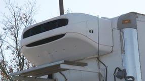 Sistema di refrigerazione del camion fotografie stock