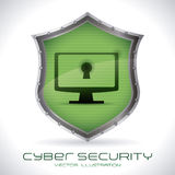 Sistema di sicurezza Fotografia Stock Libera da Diritti