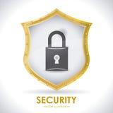 Sistema di sicurezza Immagine Stock Libera da Diritti