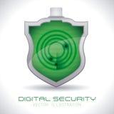 Sistema di sicurezza Fotografie Stock