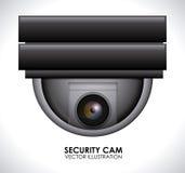 Sistema di sicurezza Immagini Stock
