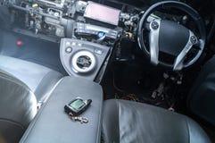 Sistema di sicurezza dell'automobile di Keychain Fotografie Stock Libere da Diritti