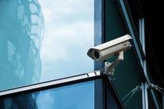 Sistema di sicurezza dell'ufficio della macchina fotografica del Cctv Fotografia Stock Libera da Diritti