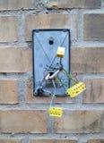 Sistema di sicurezza rotto Fotografia Stock Libera da Diritti