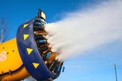 Sistema di Snowmaking artificiale Immagine Stock Libera da Diritti