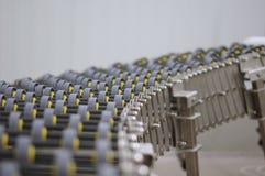 Sistema di trasporto del prodotto industriale Fotografie Stock
