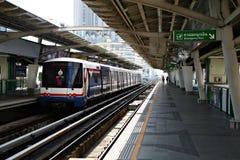 Sistema di trasporto del rapid di bus di Bangkok Fotografie Stock Libere da Diritti