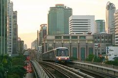Sistema di trasporto di trasporto pubblico di Bangkok Immagini Stock Libere da Diritti