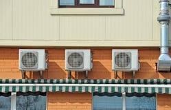 Sistema di ventilazione Fotografia Stock