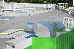 Sistema di ventilazione industriale Immagini Stock
