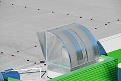 Sistema di ventilazione industriale Fotografia Stock Libera da Diritti